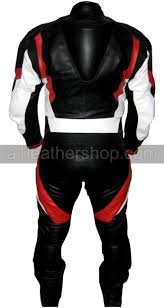 motorcycle leather suit black white red motorcycle racing leather suit