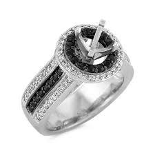 black sapphire engagement rings halo black sapphire and engagement ring with black