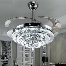 Modern Ceiling Fan With Light And Remote Chandeliers And Ceiling Lights Led Chandelier Fan Lights