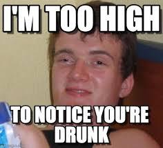 i m too high 10 guy meme on memegen