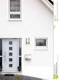 Front Door Modern Front Door Of A Modern House Royalty Free Stock Photo Image
