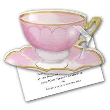 kitchen tea invites ideas diecut pink tea cup bridal shower invitation paperstyle