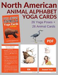 american animals alphabet cards for pdf