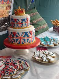 union jack birthday cake for a british themed party british