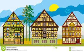 three houses three houses row stock illustrations 82 three houses row stock