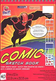 pacon comic sketch book 9 x 12 40 sheets 051718 details