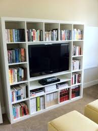 Expedit Ikea Bookcase Ikea Hack Expedit Wall Mount Tv Livingroom House N Home