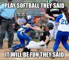 Funny Softball Memes - softball catcher softball stuff and softball things