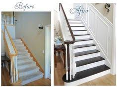 how to stain an oak banister banisters woods and staircases