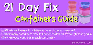Purple Canisters For The Kitchen 21 Day Fix Container Sizes U0026 Portion Control Plan Jeanieandjoan