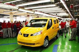nissan nv200 nissan nv200 evalia u0027taxi of tomorrow u0027 production starts