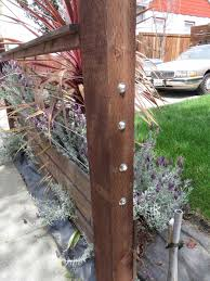 Patio Fence Ideas by Low Metal Fence Home U0026 Gardens Geek