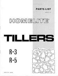 homelite tiller r 5 user guide manualsonline com