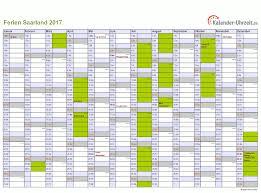 Kalender 2018 Mit Feiertagen Saarland Ferien Saarland 2017 Ferienkalender Zum Ausdrucken