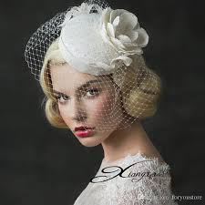 headdress for wedding hot sales wedding headdress lace cloth yarn flower