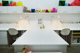craft room redesign with oh joy ikea home tour