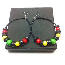 reggae earrings rasta earrings ebay