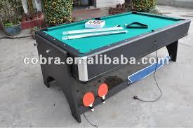 4 in 1 pool table 4 in 1 reversible pool table air hockey table table tennis table