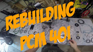 makswerks garage diy step by step rebuilding a pcm 40i boat