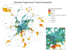 Metro Atlanta County Map by Regional Equity And Inclusion Arc