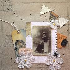 Vintage Scrapbook Album Scrapbooking 2 3 Love Paper Crafts