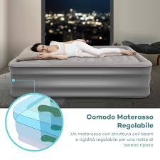 materasso comodo materasso gonfiabile airbed letto ad rialzato con pompa