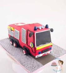 firetruck cakes how to make a truck cake tutorial veena azmanov