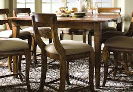 Dining Room Table With Leaf by Tuscano Counter Height Table Includes One Self Storing 20
