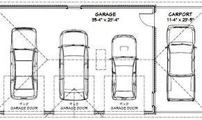 size of a 3 car garage four car garage dimensions best interior 2018
