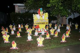 Birthday Lawn Decorations Chickens Christopher From Birthday Lawn Signs By Front Yard Smiles