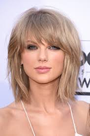 hairstyles fir bangs too short taylor swift looks fierce with red hair in her bad blood music