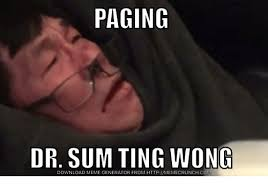 Pager Meme - paging dr sum wong download generator from httpmemecrunchcom