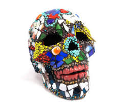 Beaded Home Decor Beaded Sugar Skull Lamp Day Of The Dead Skull Gothic Skull
