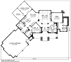 attached angled garage house plans house design plans