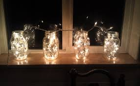 how to make mason jar lights with christmas lights magicial light mason jar for christmas ideas trends4us com