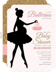 ballerina baby shower theme ballerina baby shower invitations mcmhandbags org