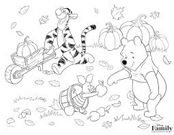 disney characters thanksgiving coloring pages mobile coloring