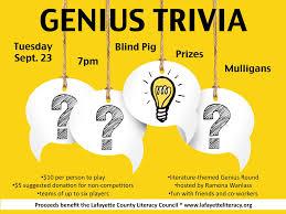 Blind Pig Jackson Ga Genius Trivia U0027 At Blind Pig For Literacy Fundraiser Hottytoddy Com