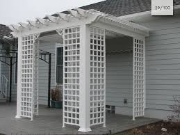 vinyl pergolas mount hope fence