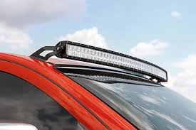 Rack For Nissan Frontier by 50in Curved Led Light Bar Upper Windshield Mounting Brackets For