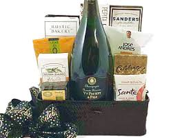 Champagne Gift Basket Champagne Gift Baskets At Fancifull Gift Baskets