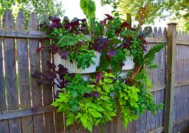 vertical garden planters are easy to install in full shade