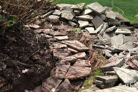How To Build A Stone by How To Build A Fieldstone Garden Wall In My Own Style