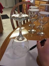 wine glass snow globes diy wine glass snow globes anika burke