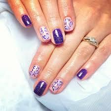 purple nails nail art inspiration nailpro