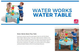 step 2 water works water table qoo10 sg every need every want every day