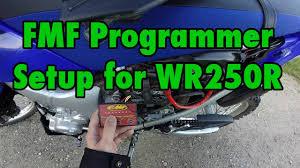 fmf programmer wr250r setup youtube