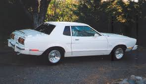 ford mustang 77 polar white 1977 ford mustang ii coupe mustangattitude com photo