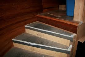 carpet on stair treads only flooring diy chatroom home