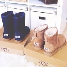 s navy ugg boots shoes ugg boots boots ugg boots navy brown girly warm